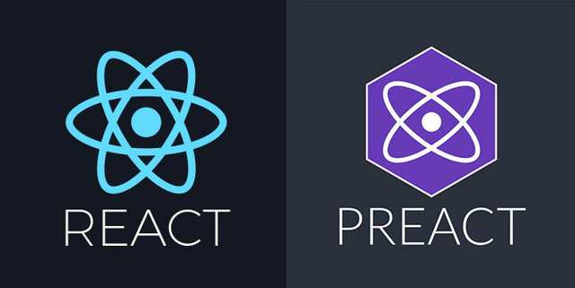 React and Preact frameworks